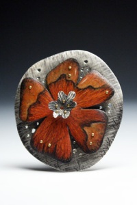 large flower pin/pendant