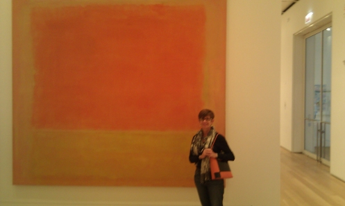 Hangin' with the big shots...at the Art Institute of Chicago
