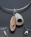sterling copper pendants